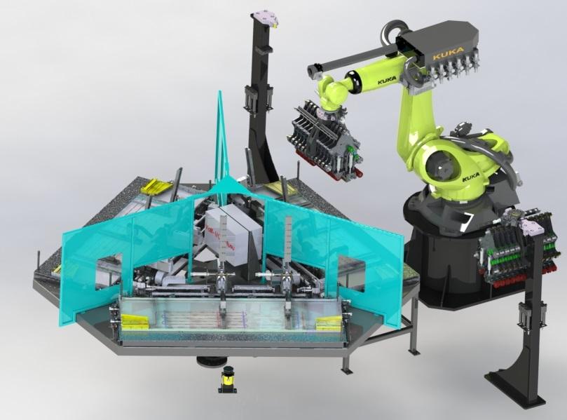kondenser sistemleri robotik